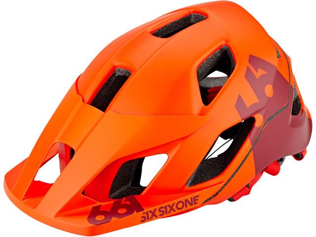 SixSixOne EVO AM Patrol Helm autumn orange